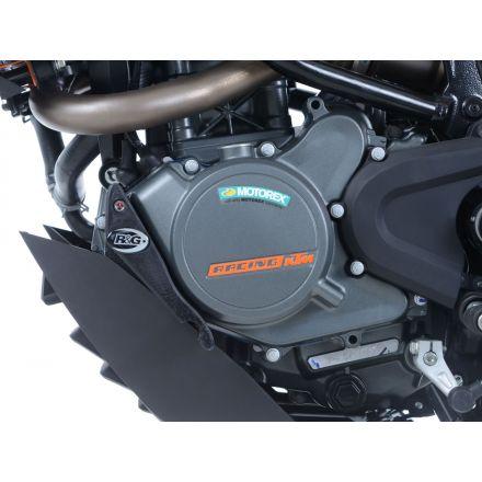 R&G - Engine case slider - LHS - KTM Duke 125 17-