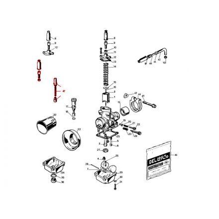 DellOrto - PHBG (47) Wirechokekit