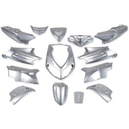STP - Peugeot SpeedFight2 kåpsett - Sølv