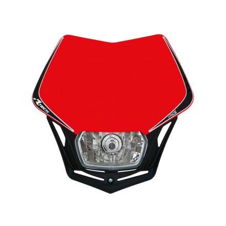Rtech - VFace framlykt - Rødt