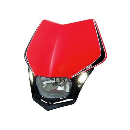 Rtech - VFace LED framlykt - Rød