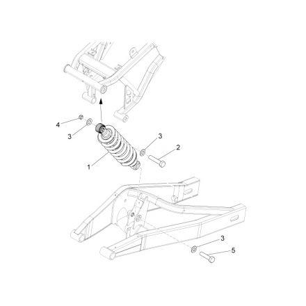 Aprilia - RS4 50 - Bakdemper