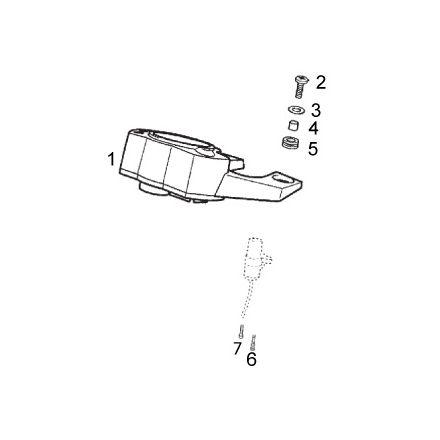 Derbi - DRD/X-Treme50 14-17 - Speedometer