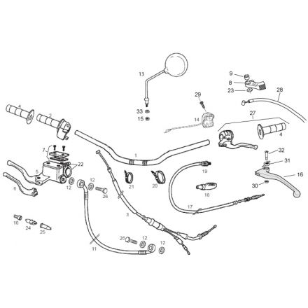 Derbi - DRD/X-Treme50 11-13 - Styre