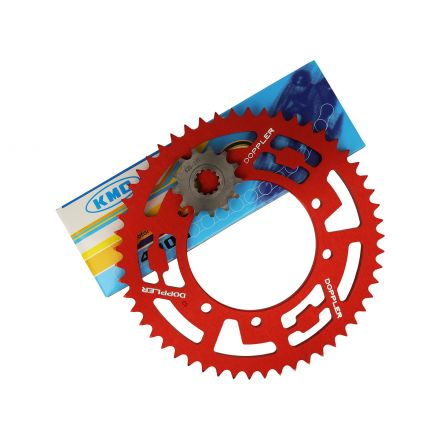 Doppler - Red - Drevkit 420 - Motorhispania/Rieju 50 - 53x13