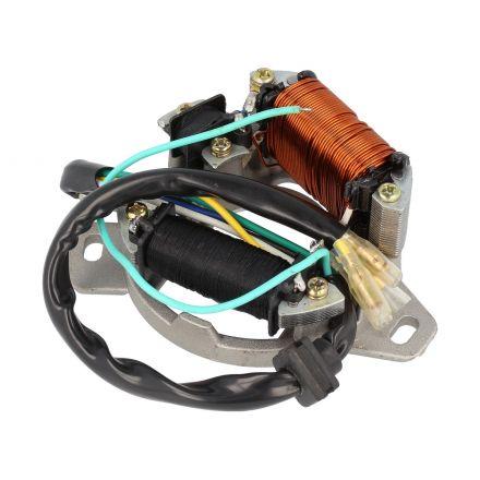 Elec - Tennplate m/spoler - Honda MT/MB